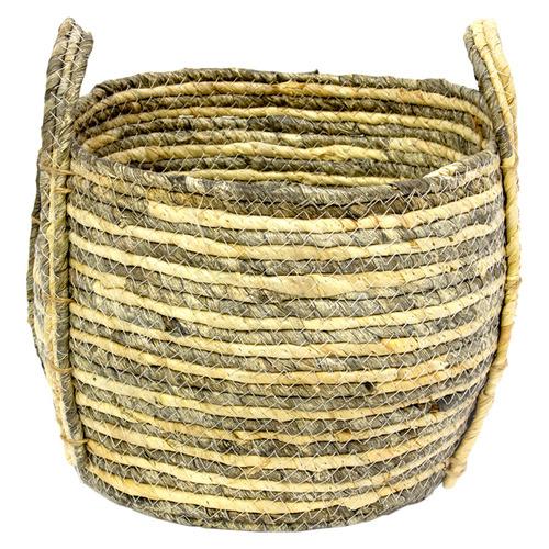 Natural Jade Storage Basket Size: Small