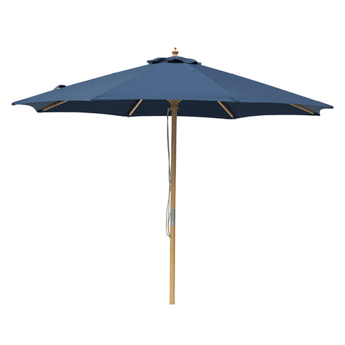 3m Market Umbrella Canopy colour: Navy