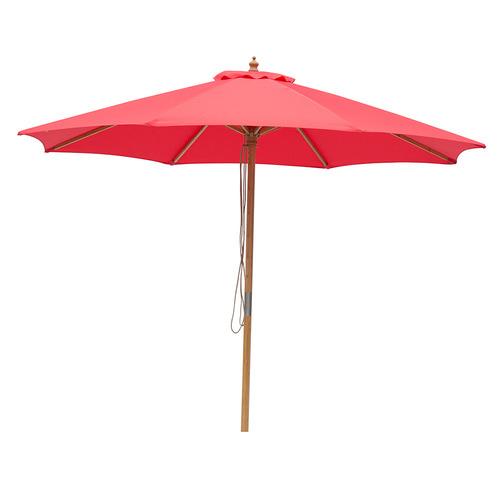 3m Market Umbrella Canopy colour: Red