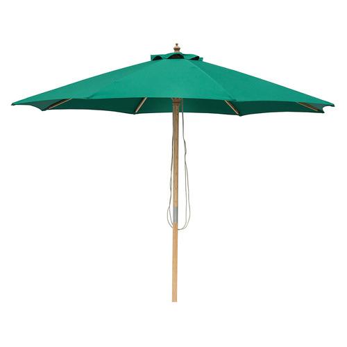 3m Market Umbrella Canopy colour: Emerald Green
