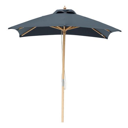 2m Square Market Umbrella Canopy colour: Black
