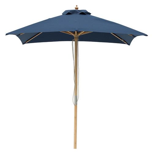 2m Square Market Umbrella Canopy colour: Navy