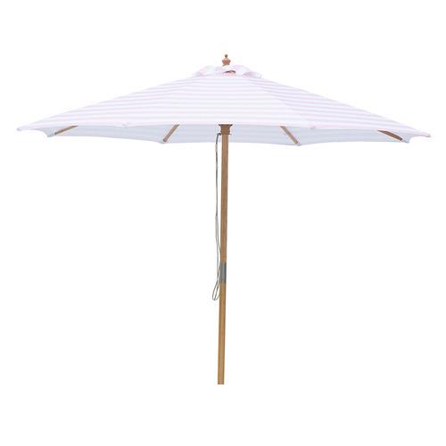 3m Pink & White Stripe Paloma Market Umbrella