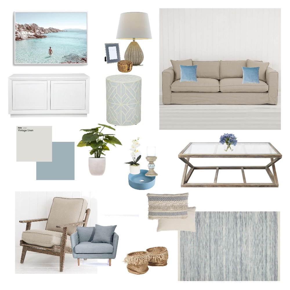 Hamptons Interior Design Mood Board by Josie05 on Style Sourcebook