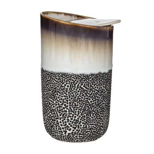 Roma Double Wall 325ml Stoneware Travel Cup