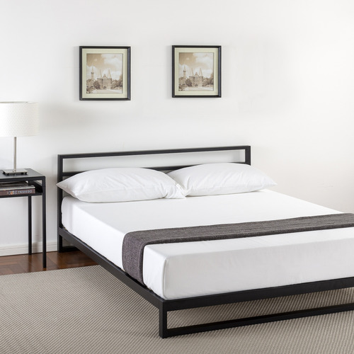 Quentin Metal Bed Frame Size: Queen