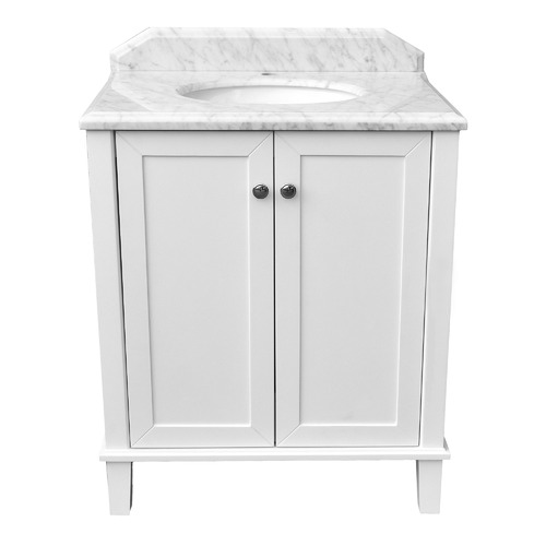70 x 55cm Coventry Marble Top Vanity Unit Number of Tap Holes: 3 tap holes