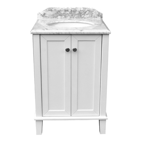 60 x 55cm Coventry Marble Top Vanity Unit Number of Tap Holes: 3 tap holes