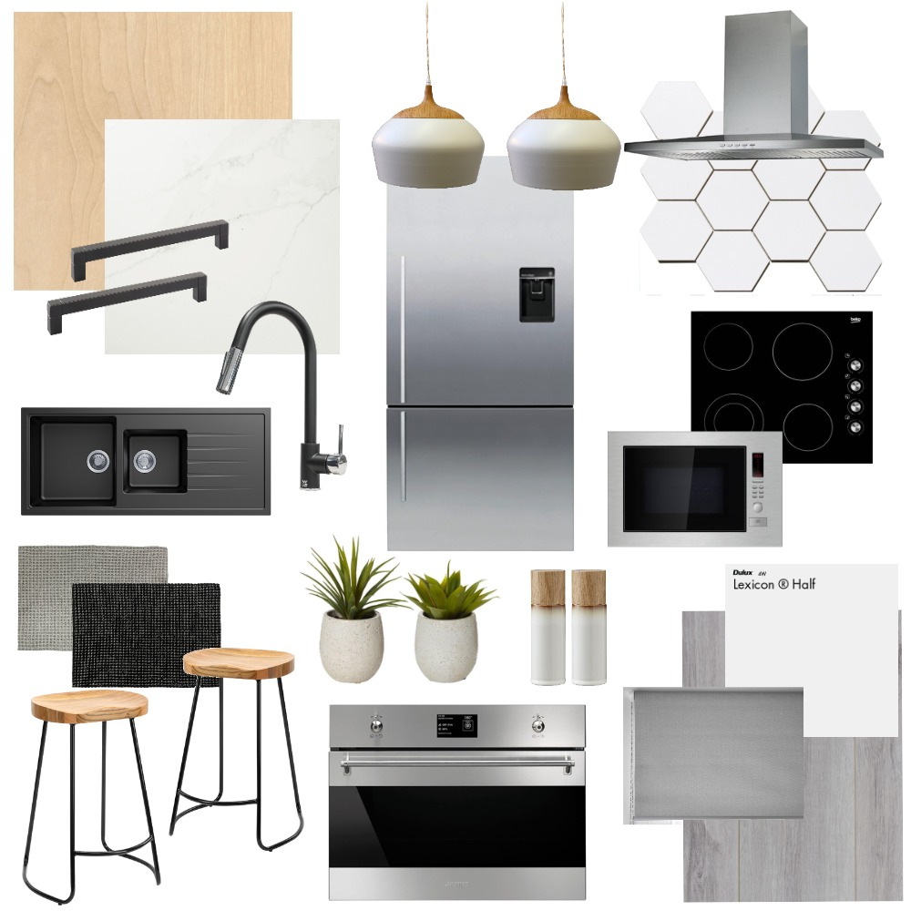 Kitchen Interior Design Mood Board by alysha.v on Style Sourcebook