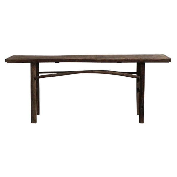 Canglu 120 Year Antique Elm Timber Oriental Console Table, No.1372, 203cm