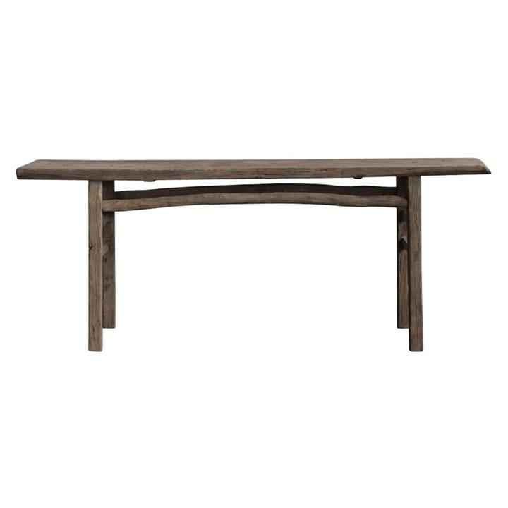 Canglu 120 Year Antique Elm Timber Oriental Console Table, No.1376, 210cm