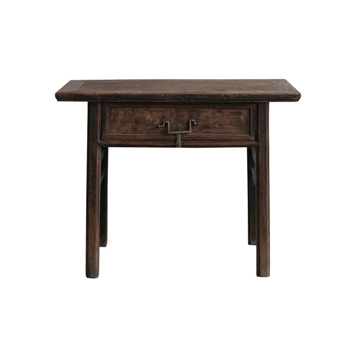 Changji 140 Year Antique Elm Timber Oriental Console Table, No.1404, 102cm
