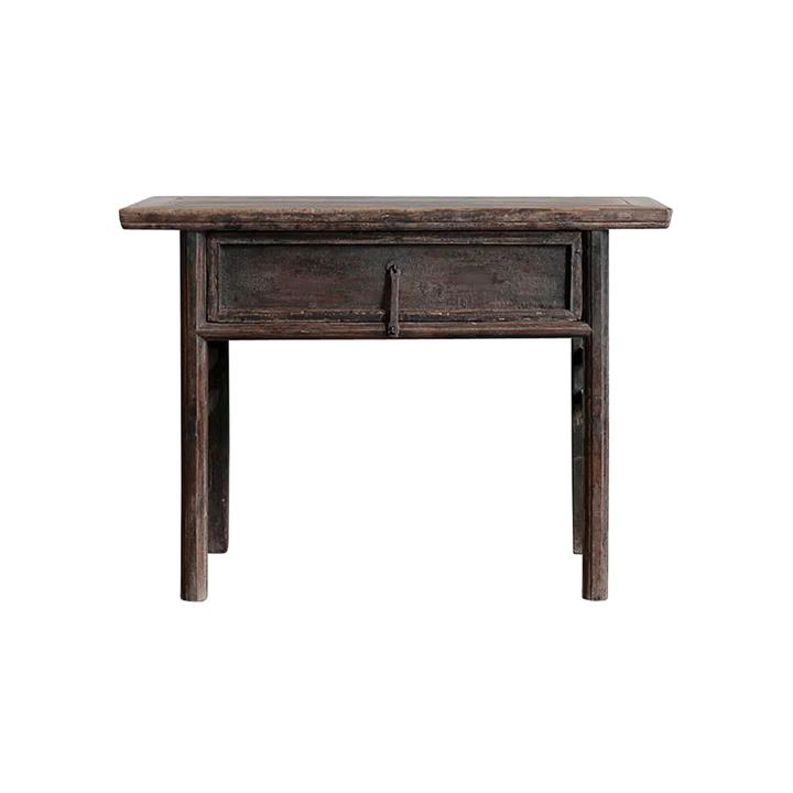Pangxin 130 Year Antique Elm Timber Oriental Console Table, No.1415, 116cm