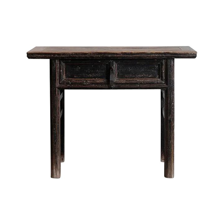 Pangxin 130 Year Antique Elm Timber Oriental Console Table, No.1416, 108cm