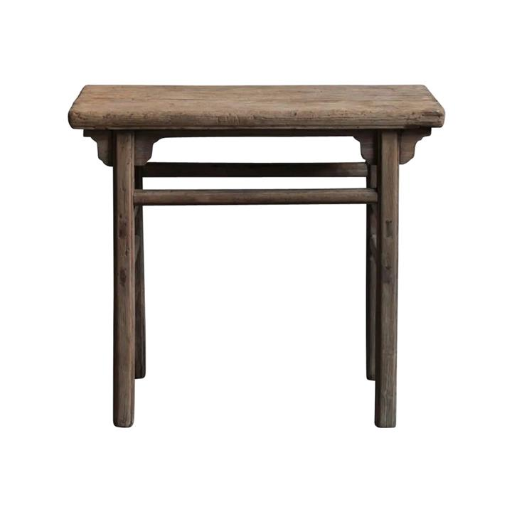 Yushu 120 Year Antique Elm Timber Oriental Console Table, No.1424, 97cm