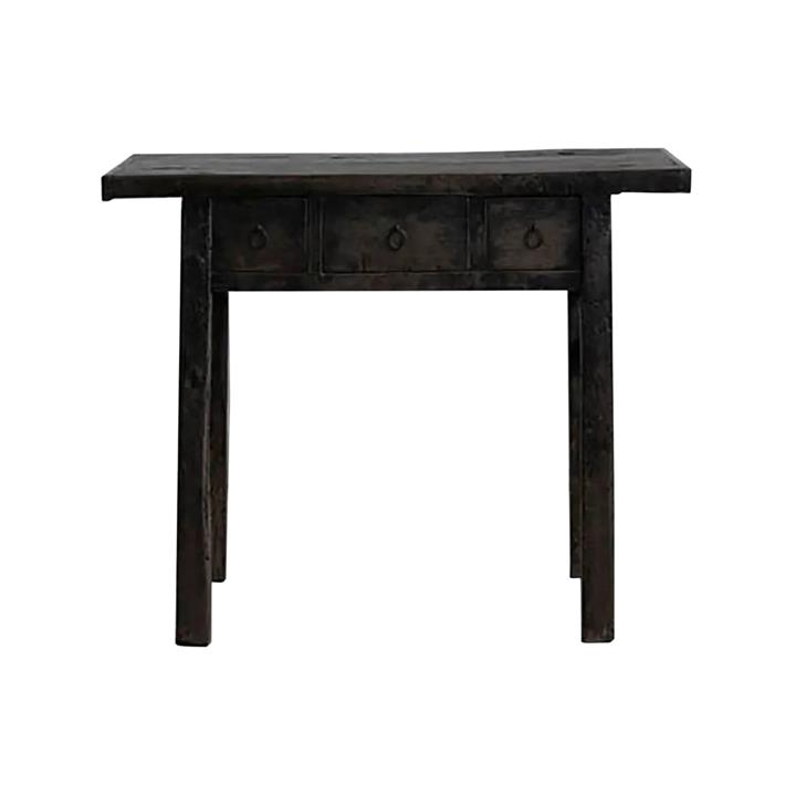 Yuntai 130 Year Antique Elm Timber Oriental Console Table, No.1441, 130cm