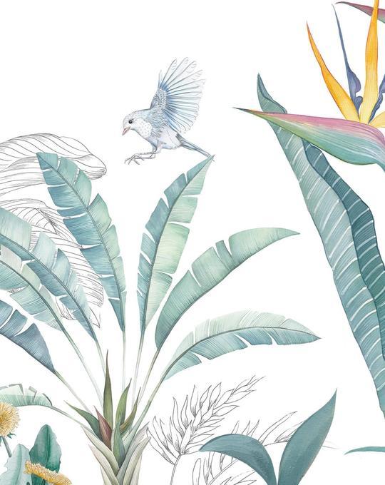 Tropical Adventure Wallpaper Mural