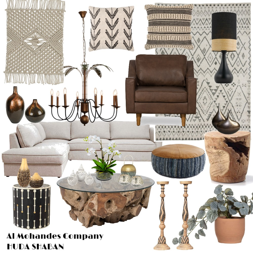African style Interior Design Mood Board by Huda shaban on Style Sourcebook