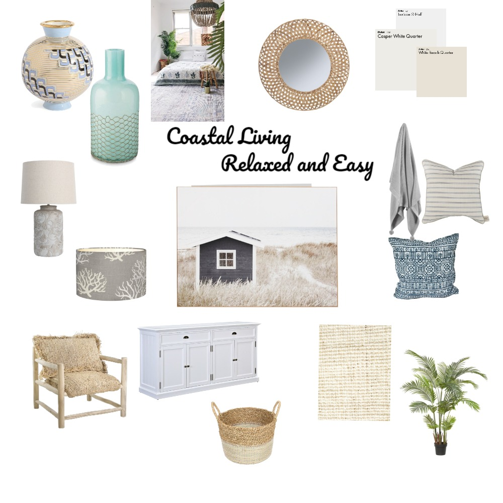 RELAXED COASTAL Interior Design Mood Board by TCapel on Style Sourcebook