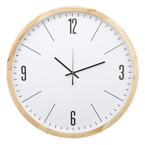 White Oscar Wall Clock