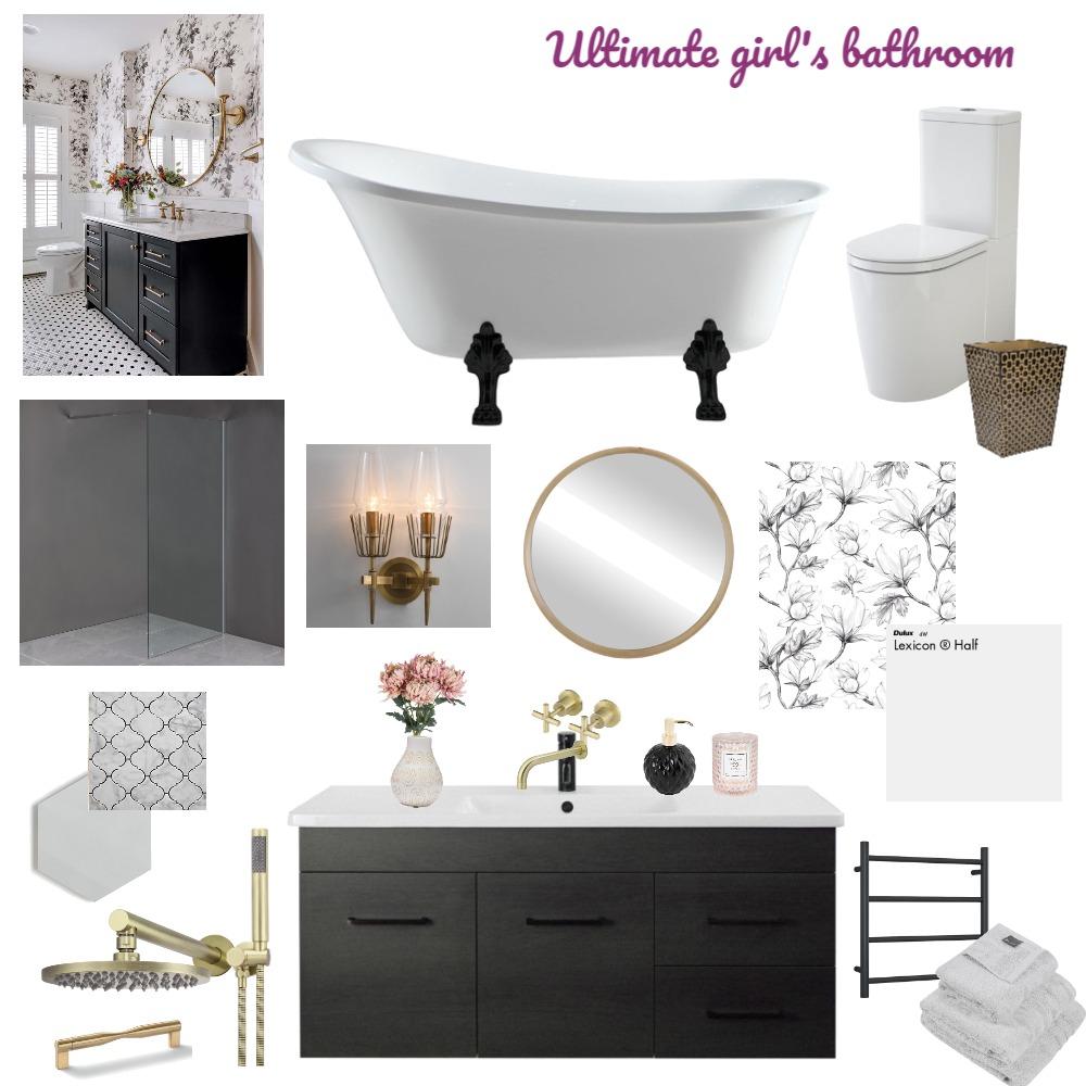 Bathroom Interior Design Mood Board by Vision Home Designs on Style Sourcebook