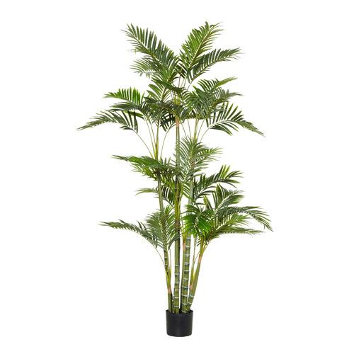 180cm Potted Faux Cane Palm Plant