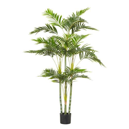 153cm Potted Faux Cane Palm Plant