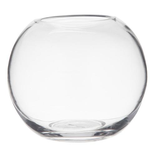 Phoebe Sphere Glass Vase Size: 14 x 16 x 16cm