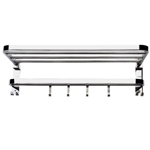 2 Tier Stainless Steel Wall Mounted Towel Rack