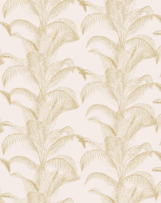 Bronzed Palms Wallpaper