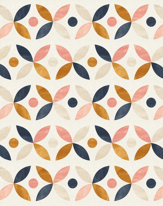 Bohemian Petals Wallpaper