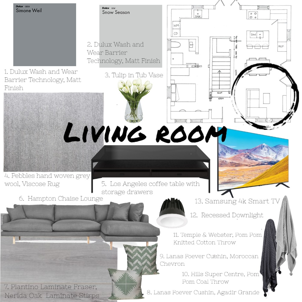 Mod 9 Part 2 Dining Interior Design Mood Board by Roetiby Kate-Lyn on Style Sourcebook