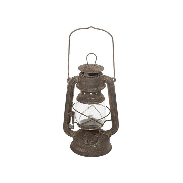 Columb Metal & Glass Hurricane Lantern, Large