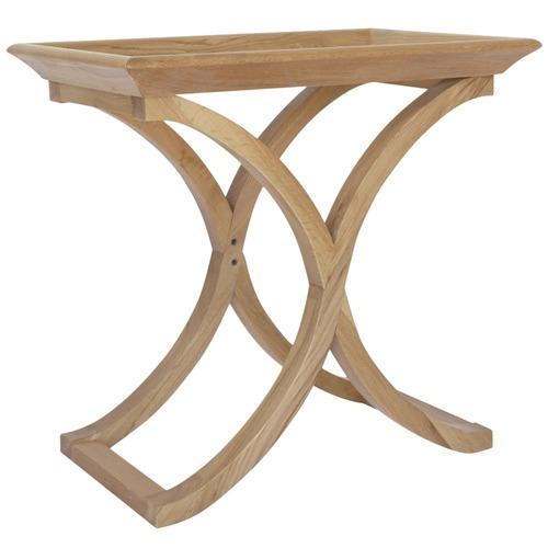 Maru Cross Legged Oak Side Table