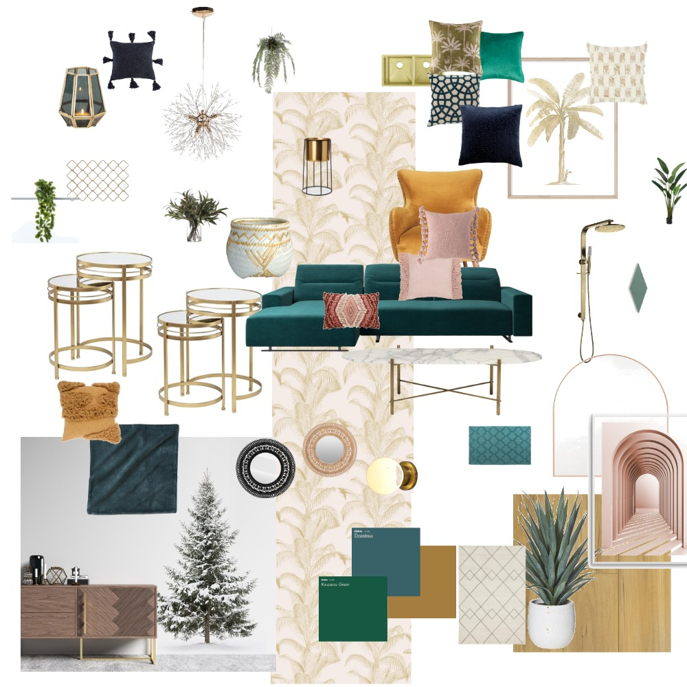 Art Deco Interior Design Mood Board by carwal on Style Sourcebook
