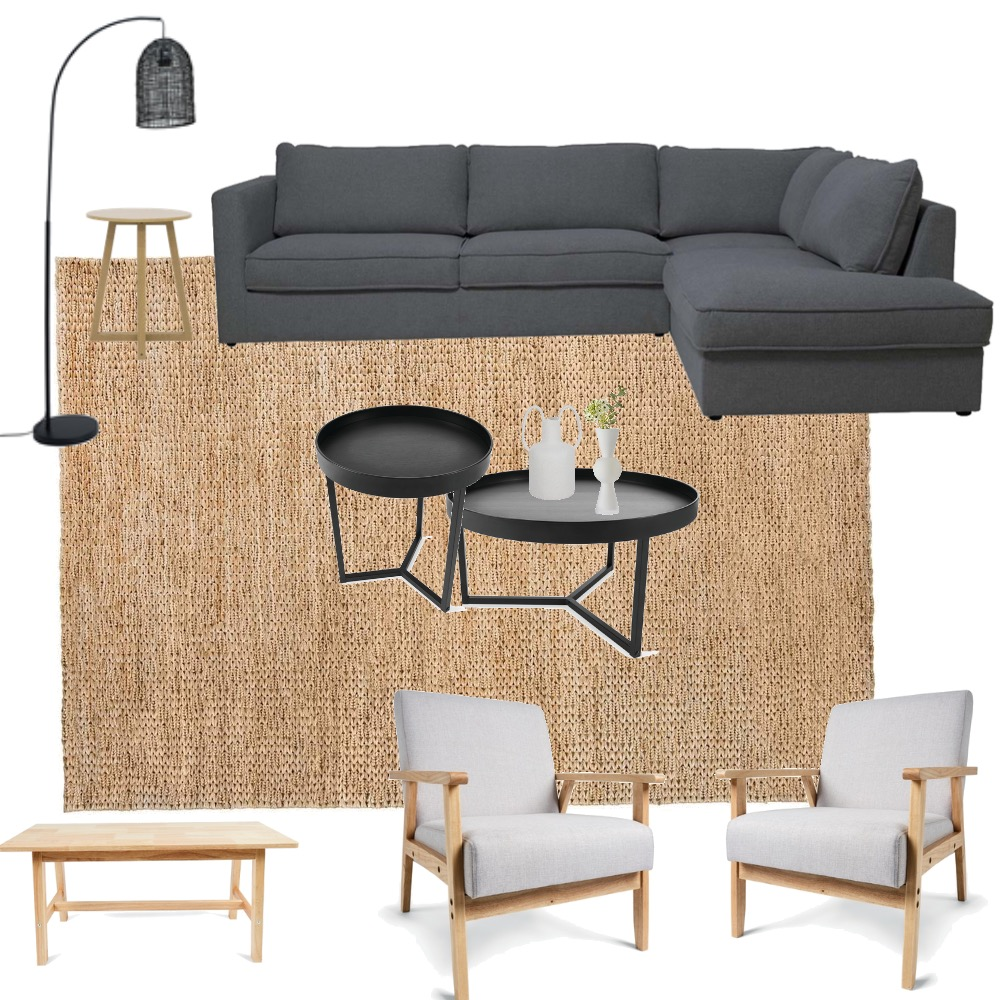 EG Living Room #3 Interior Design Mood Board by Ashfoot Collective on Style Sourcebook