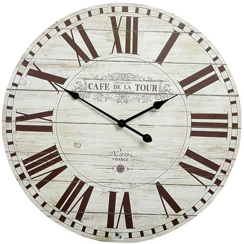 Caf de la Tour Wall Clock