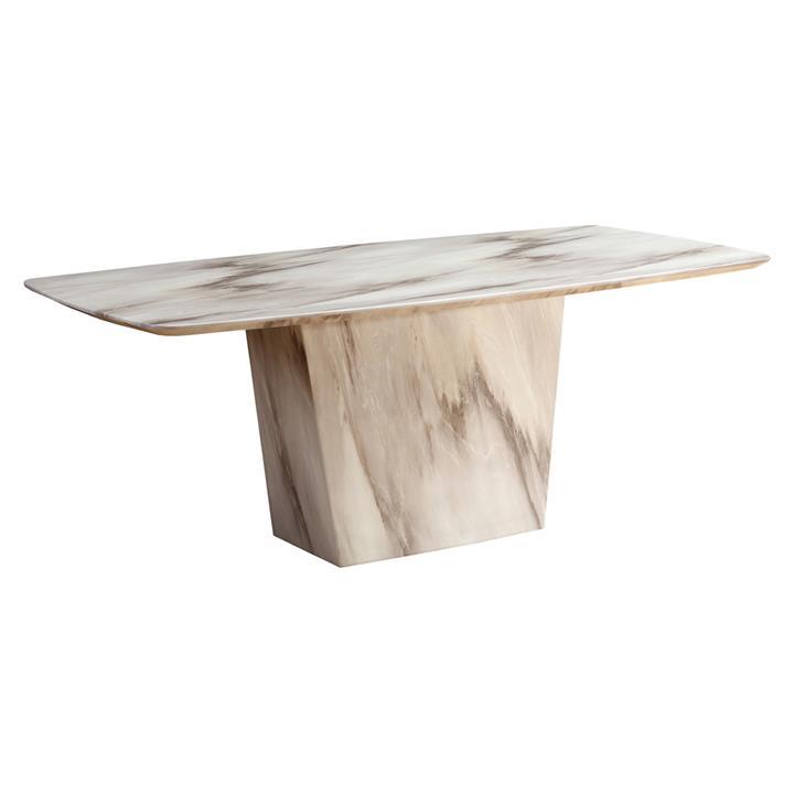 Shelburne Marble Dining Table, 200cm