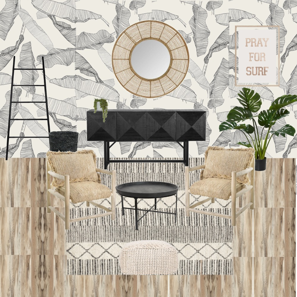 Beachy Sitting room Interior Design Mood Board by arhill on Style Sourcebook