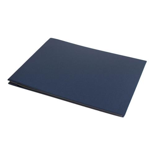 Book Cloth Photo Album Size: Large, Colour: Navy