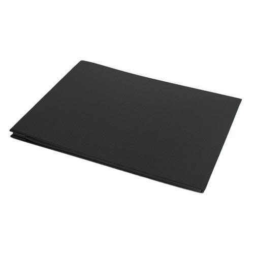 Book Cloth Photo Album Size: Large, Colour: Black