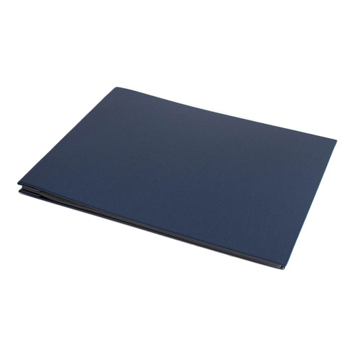 Book Cloth Photo Album Colour: Navy, Size: Medium