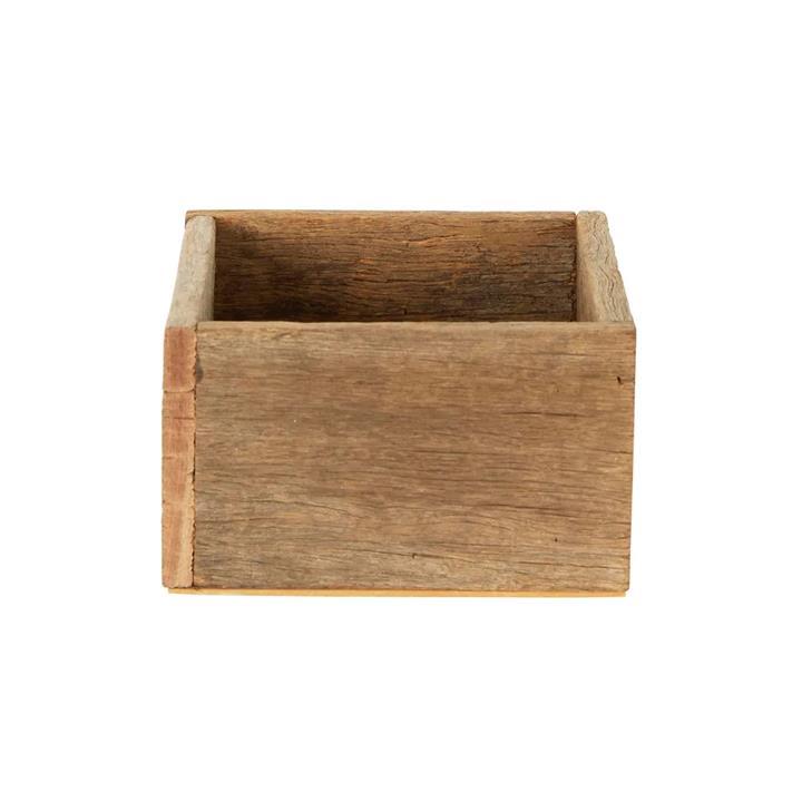 Kendall Timber Square Box, Medium