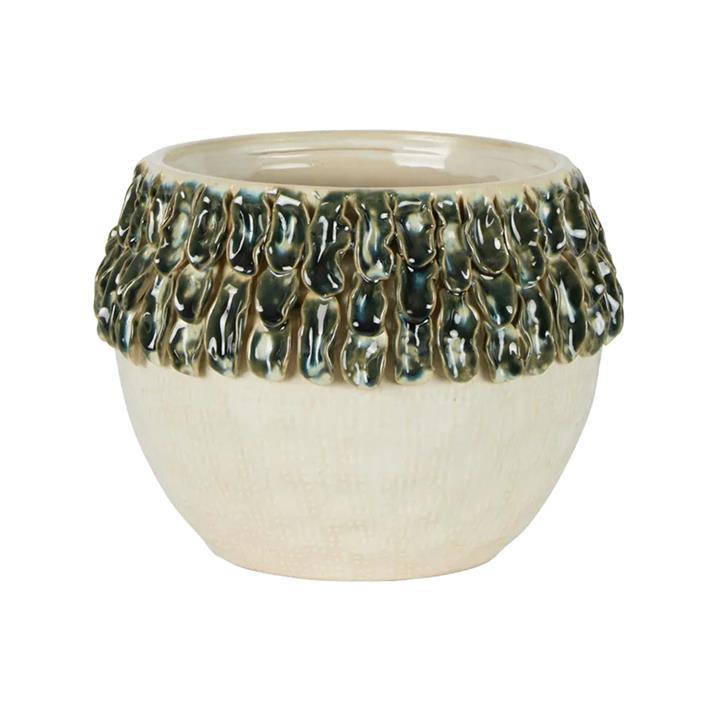 Seaweed Ceramic Pot