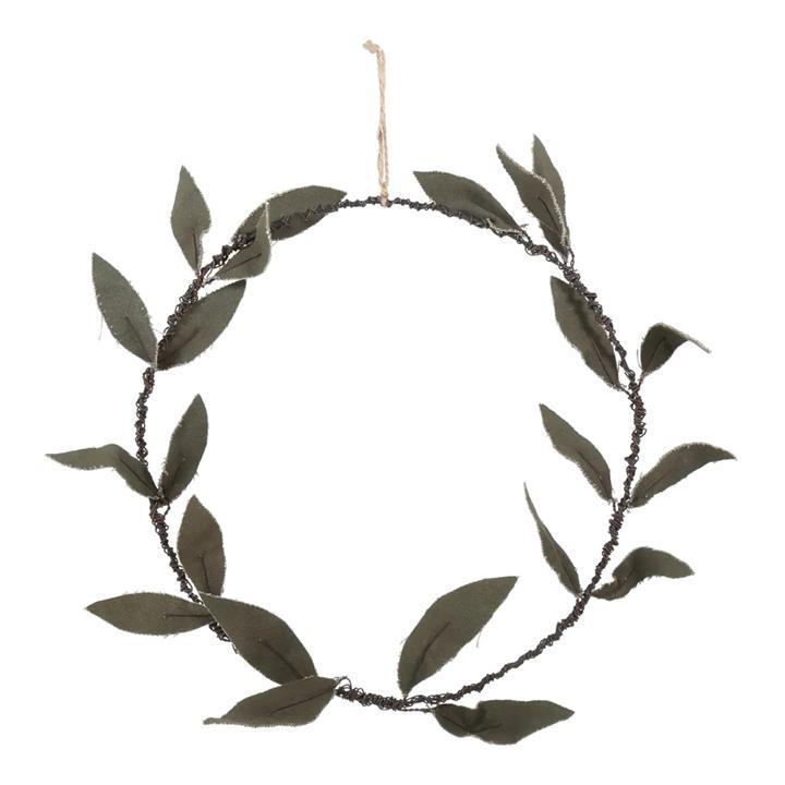 Tara Vintage Olive Leaves Wreath