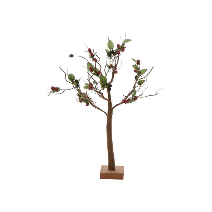 Berry Light Up Tree Ornament, 90cm