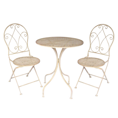 2 Seater Abby Outdoor Bistro Set