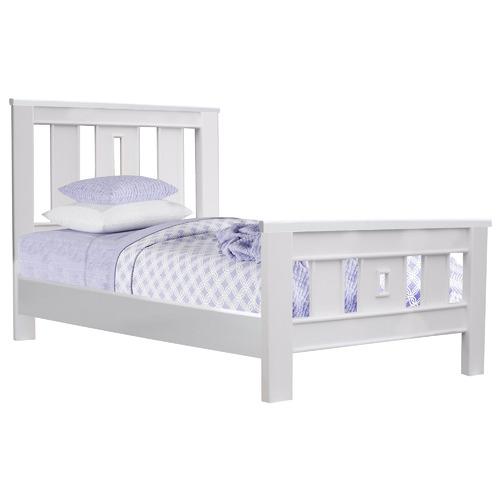 Hartford Pine Wood Bed Size: King Single