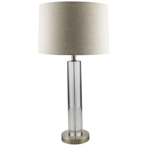 Classic Hastings Crystal Tube Table Lamp