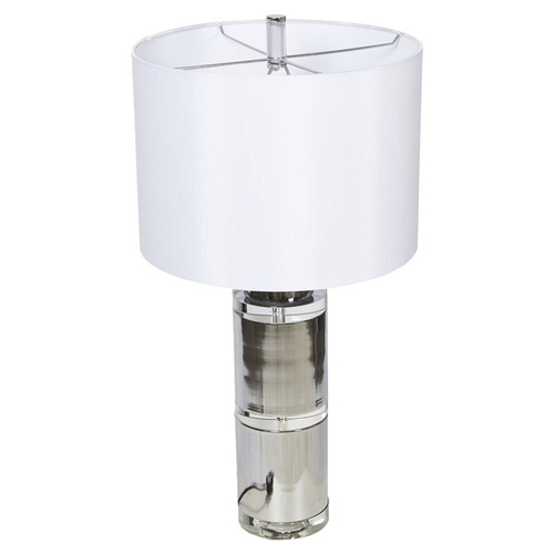 Huntingdon Crystal & Metal Table Lamp